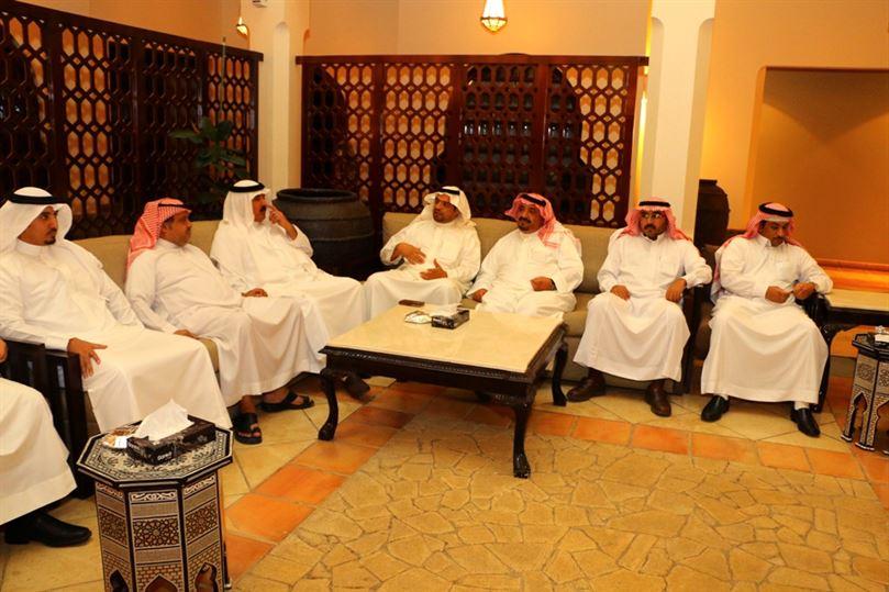 غرفة الجوف تدعم العروبة و القلعة بـ١٠٠ ألف ريال