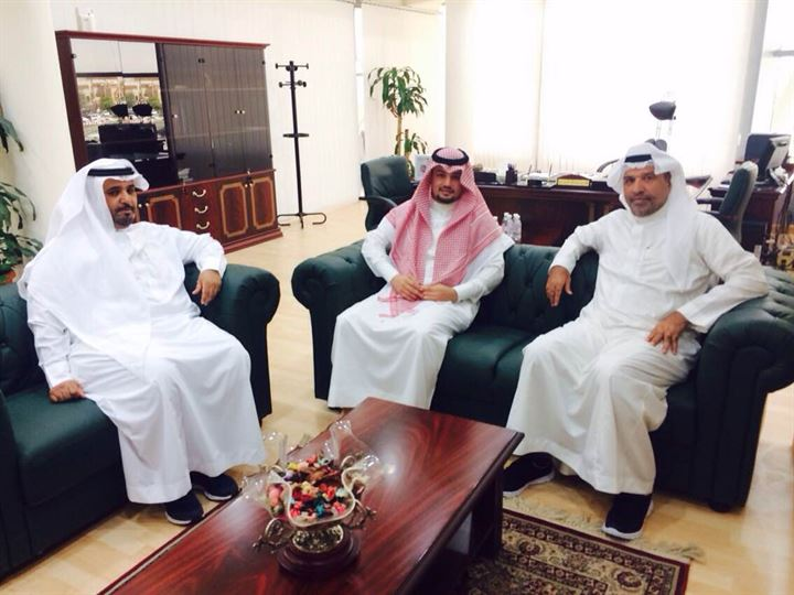 أمين غرفة الجوف يطلع على تجربة خدمات المشتركين بغرفة الرياض