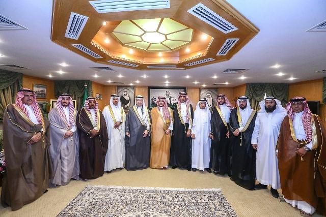 نائب أمير الجوف التقى برئيس وأعضاء مجلس غرفة الجوف