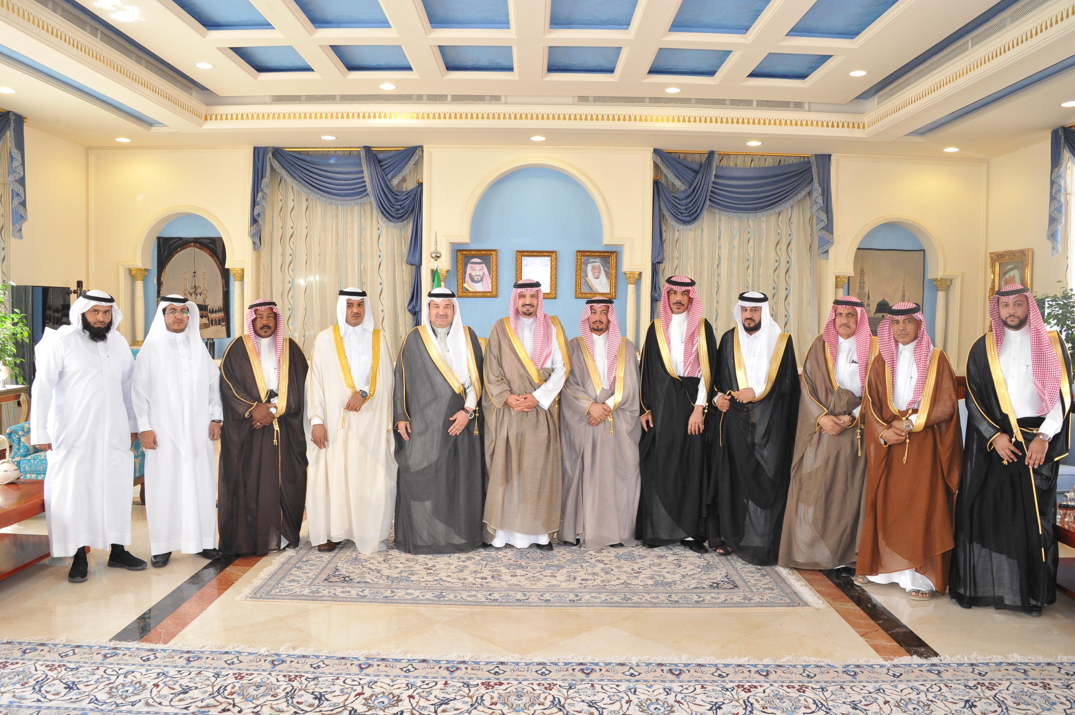 أمير الجوف التقى برئيس وأعضاء مجلس غرفة الجوف