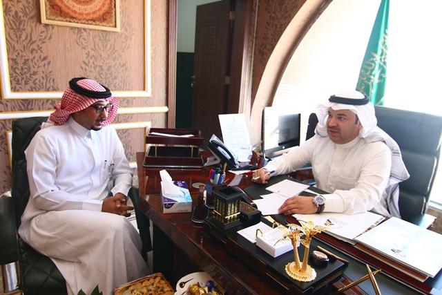 غرفة الجوف تبحث التعاون مع مدينة الأمير محمد الطبية