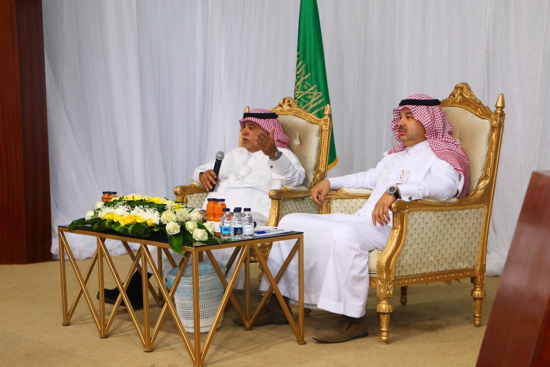وزير التجارة والاستثمار يلتقي رجال وسيدات الأعمال بالجوف