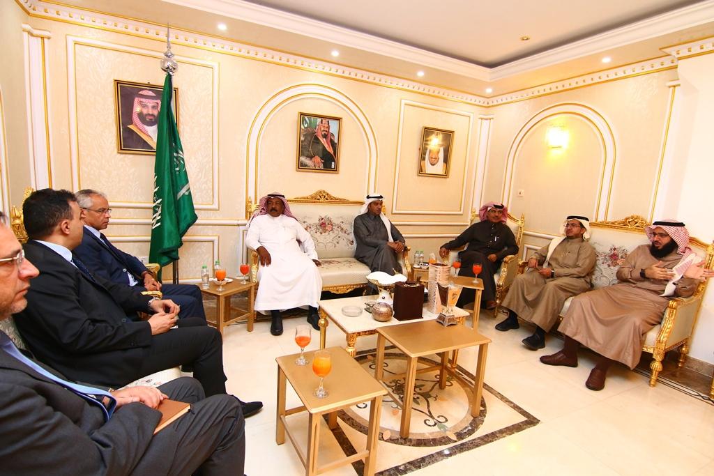 غرفة الجوف تستقبل القنصل الفرنسي لدى المملكة